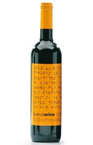Lazarus Wine Etiqueta Naranja